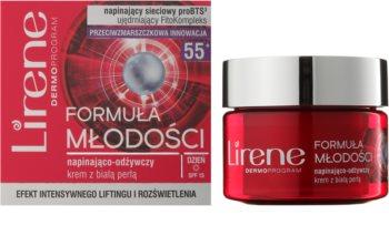 Lirene Youthful Formula 55+ učvrstitvena krema z hranilnim učinkom