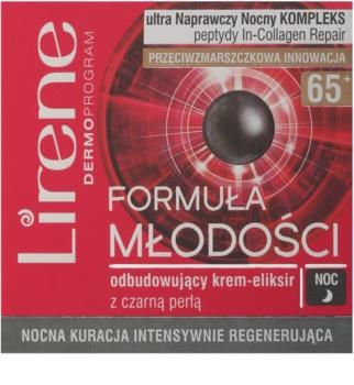 Lirene Youthful Formula 65+ nočný intenzívny regeneračný krém