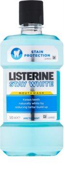 Listerine Stay White płyn do płukania jamy ustnej o działaniu wybielającym