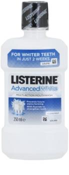 Listerine Advanced White elixir bocal com efeito branqueador