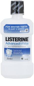 Listerine Advanced White enjuague bucal con efecto blanqueador