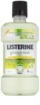 Listerine Green Tea apa de gura pentru a intari smaltul dintilor