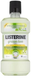 Listerine Green Tea bain de bouche pour renforcer l'émail dentaire