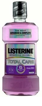Listerine Total Care Clean Mint enjuague bucal para una protección completa de dientes 6 en 1