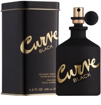 Liz Claiborne Curve  Black eau de Cologne pour homme 125 ml