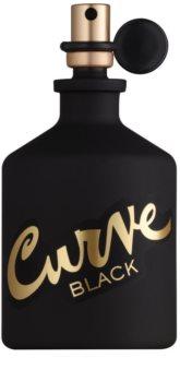 Liz Claiborne Curve  Black água de colónia para homens 125 ml