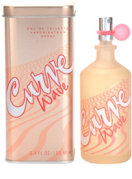 Liz Claiborne Curve Wave Eau de Toilette for Women 100 ml