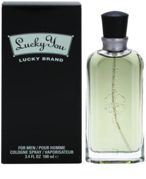 Liz Claiborne Lucky You eau de cologne pentru barbati 100 ml