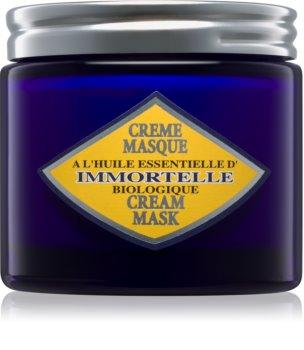 L'Occitane Immortelle máscara de pele para pele normal a seca