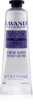 L'Occitane Lavender creme para mãos e unhas com manteiga de karité