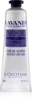 L'Occitane Lavender krém na ruce a nehty s bambuckým máslem