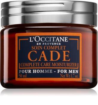L'Occitane Eau de Cade Pour Homme intenzivní hydratační krém s omlazujícím účinkem