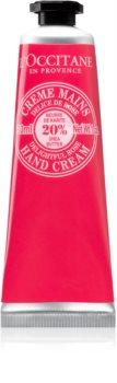 L'Occitane Shea Butter krema za roke z vonjem vrtnic