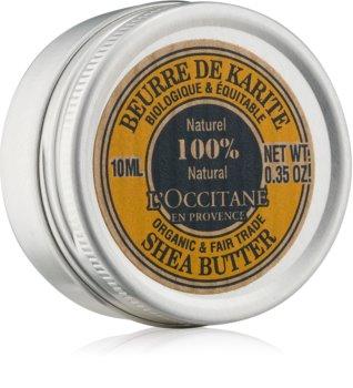 L'Occitane Karité BIO 100% bambucké maslo pre suchú pokožku
