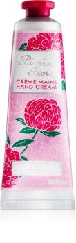 L'Occitane Pivoine Flora krema za roke za ženske 30 ml