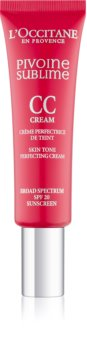 L'Occitane Pivoine Sublime crema CC con color SPF 20