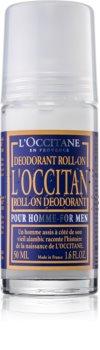L'Occitane Pour Homme дезодорант кульковий для чоловіків