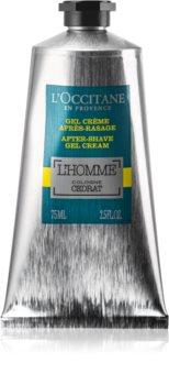 L'Occitane L´Homme Cologne Cedrat hidratáló géles krém borotválkozás után