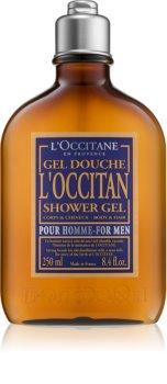 L'Occitane Homme gel de banho para corpo e cabelo para homens
