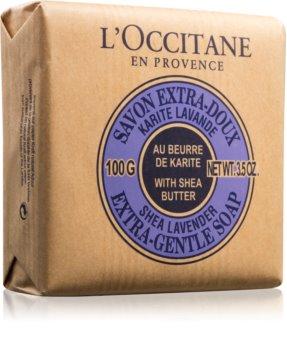 L'Occitane Lavender extra jemné mydlo