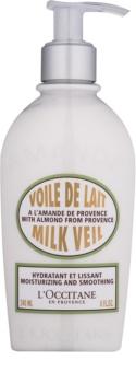 L'Occitane Amande зволожуюче молочко для тіла з розгладжуючим ефектом