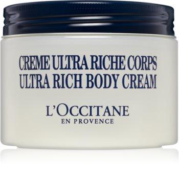 L'Occitane Shea Butter Body hranjiva krema za tijelo za suhu i vrlo suhu kožu