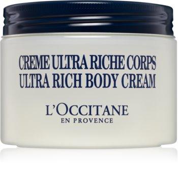 L'Occitane Shea Butter Body tápláló testápoló krém Száraz, nagyon száraz bőrre