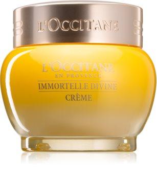 L'Occitane Immortelle Divine Face Cream with Anti-Wrinkle Effect