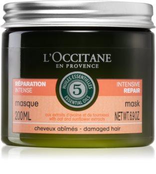 L'Occitane Aromachologie intensive Maske für beschädigtes Haar