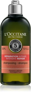 L'Occitane Intensive Repair champô regenerador para cabelo seco a danificado