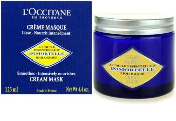 L'Occitane Immortelle masque visage pour peaux normales à sèches