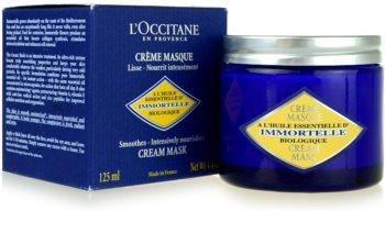 L'Occitane Immortelle arcmaszk normál és száraz bőrre