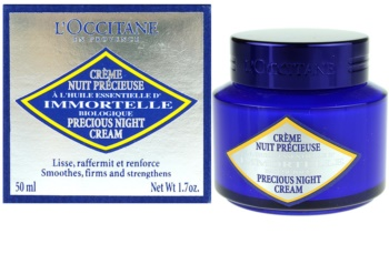 L'Occitane Immortelle crema de noche antiarrugas