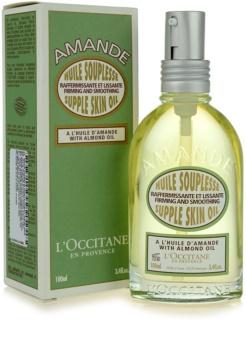 L'Occitane Amande spevňujúci telový olej