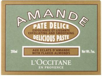 L'Occitane Amande Körperpeeling mit Mandelöl