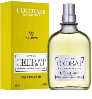L'Occitane Cedrat toaletná voda pre mužov 100 ml