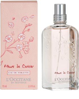 L'Occitane Fleurs de Cerisier eau de toilette pour femme 75 ml