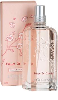 L'Occitane Fleurs de Cerisier Eau de Toilette voor Vrouwen  75 ml