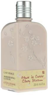 L'Occitane Fleurs de Cerisier leite corporal