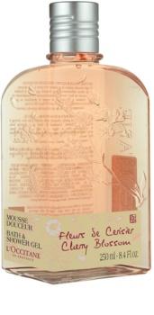 L'Occitane Fleurs de Cerisier sprchový gél