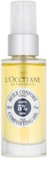L'Occitane Karité jemný pleťový olej s bambuckým maslom