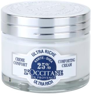 L'Occitane Karité výživný upokojujúci pleťový krém