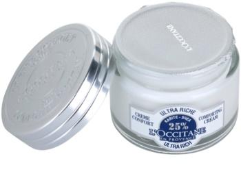 L'Occitane Karité tápláló és nyugtató arckrém