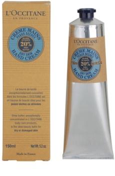 L'Occitane Karité крем для рук для сухої шкіри