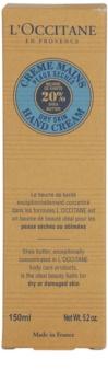 L'Occitane Karité kézkrém száraz bőrre
