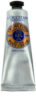 L'Occitane Karité crema de picioare pentru piele uscata