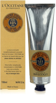 L'Occitane Karité крем для ніг для сухої шкіри