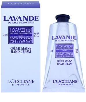 L'Occitane Lavande krema za roke in nohte z karitejevim maslom