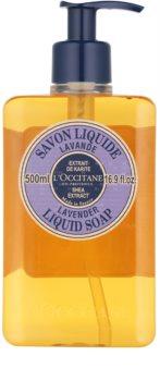 L'Occitane Lavande tekuté mýdlo s bambuckým máslem