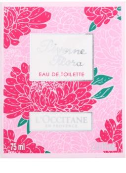 L'Occitane Pivoine Flora toaletní voda pro ženy 75 ml